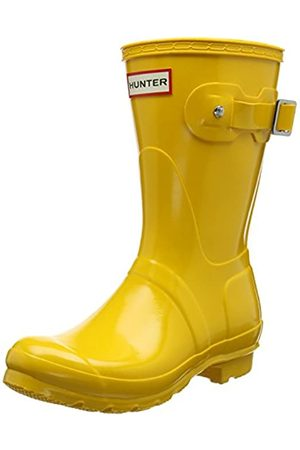 Hunter Damen Low Wellington Boots Gummistiefel, (Yellow RYL)