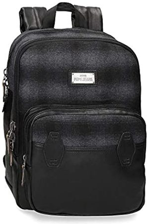 Pepe Jeans Scotch Laptop-Rucksack 27x36x12 cms Polyester und PU 13