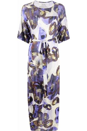HENRIK VIBSKOV Kleid mit abstraktem Print