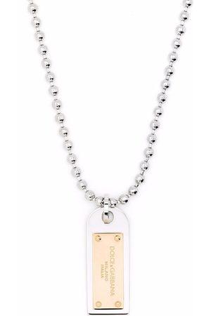Dolce & Gabbana Military-Halskette mit Erkennungsmarke