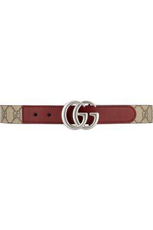 Gucci Jungen Gürtel - Gürtel mit GG-Schild