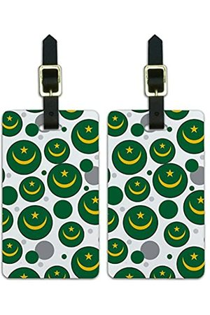 Graphics and More Graphics & More J-n-Mauritanien Nationalflagge - Luggage.Tags.09633