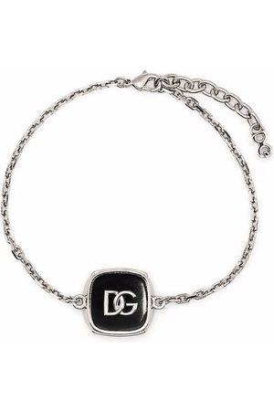 Dolce & Gabbana Herren Armbänder - Armband mit Logo-Schild
