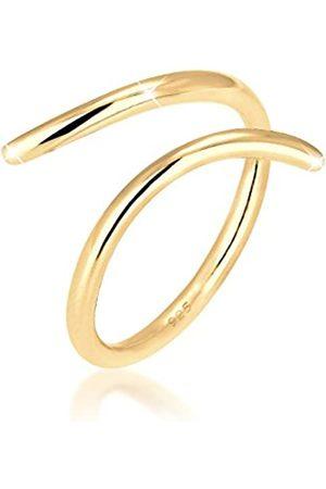 Elli Ring Damen Wickelring Blogger Statement in 925 Sterling Silber
