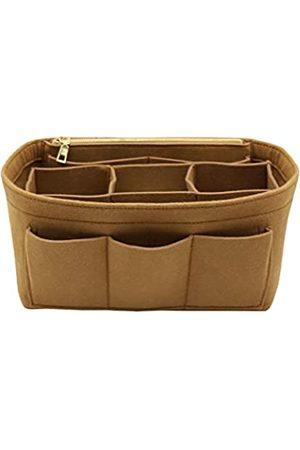LEXSION Aufbewahrungstasche aus Filz für die Handtasche, passend für Speedy Neverfull, Braun (hellbraun)