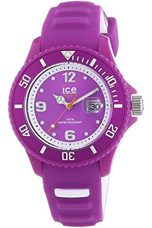 Ice-Watch Unisex-Armbanduhr Sunshine Neon Purple Analog Quarz Silikon SUN.NPE.U.S.14