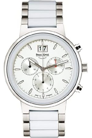Soehnle Bruno Söhnle Damen Chronograph Quarz Uhr mit Keramik Armband 17-93133-942