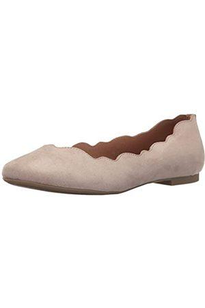 ATHENA Tallye Ballerinas für Damen, (Braungrau - Taupe Suede)