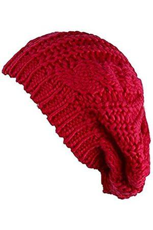 MOHSLEE Damen Mädchen Winter Warme Baskenmütze Geflochtene Beanie Häkelmütze Mütze