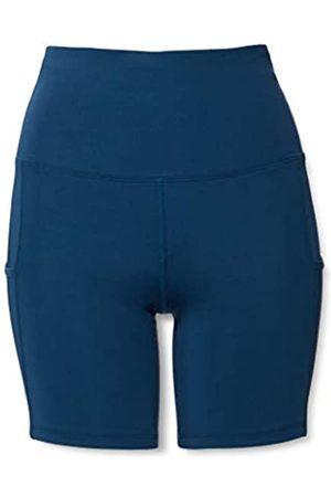 AURIQUE Amazon-Marke: Damen kurze Leggings mit Seitentaschen