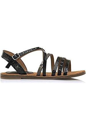 Maria Mare Damen 68151 Sandale, Cocus Negro/Brush Negro