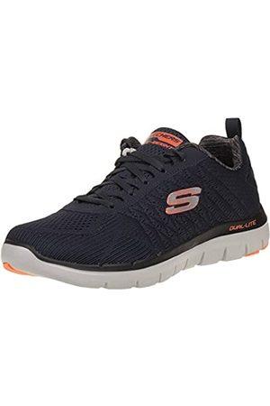 Skechers Herren The Happs-Flex Advantage 2.0 Sneaker, (Dark Navy)