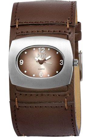 Just Watches Damen-Armbanduhr Analog Quarz Leder 48-S8977-BR