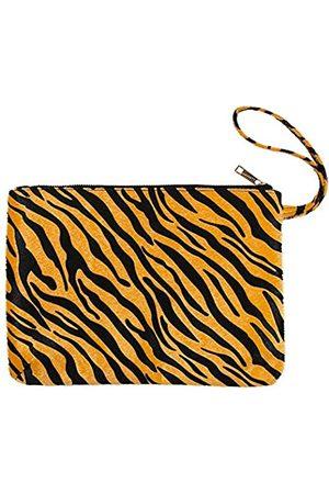 Me Plus Damen Clutch-Tasche Wristlet Geldbörse Tasche Reißverschluss (2 Muster), (Zebra- )