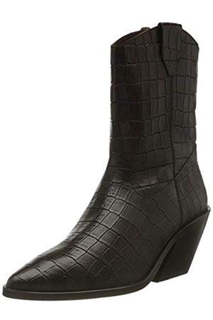 VERO MODA Damen VMSIBEA Leather Boot Stiefelette