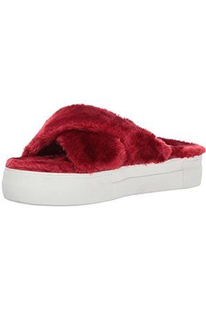 JSLIDES Women's Adorablee Fashion Sneaker, Red