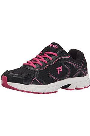 Propet Propet Women's XV550 Athletic Shoe, Black/Pink