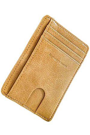 Bybetermon Schlanke Kartenbrieftasche, minimalistischer Kartenhalter