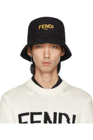Fendi Reversible Black 'Forever ' Fisherman Hat