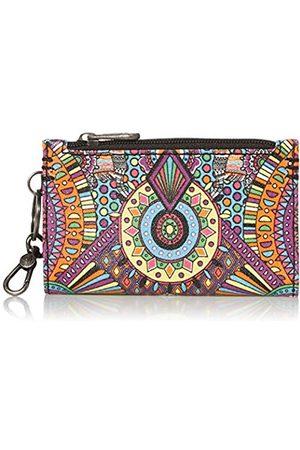 Sakroots Encino Essential Geldbörse für Damen, Mehrfarbig (Regenbogen Wanderlust)
