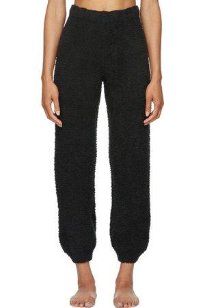 SKIMS Black Cozy Knit Jogger Lounge Pants