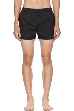 Ami Black Ami De Coeur Swim Shorts