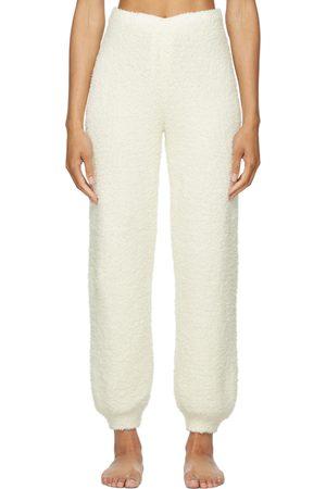 SKIMS Off-White Cozy Knit Jogger Lounge Pants
