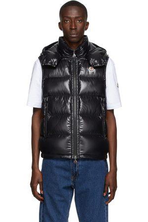 Moncler Black Down Bormes Vest