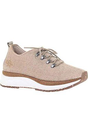 OTBT Damen Courier Sneaker, Braun (natur)
