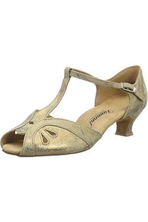 Diamant Damen Tanzschuhe 019-011-311 Standard & Latein, (Bronze Magic)