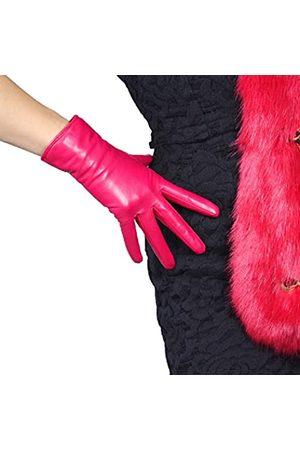 DooWay Damen-Handschuhe aus echtem Ziegenleder, kurz, Vintage, klassisch