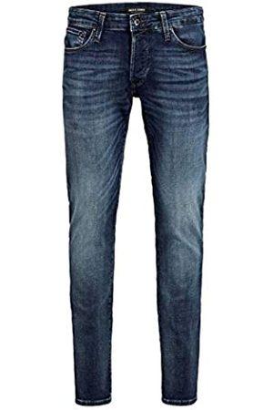 JACK & JONES Male Plus Size Slim Fit Jeans Tim ICON JJ 057 50SPS 4432Blue Denim