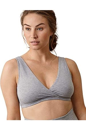 Boob Damen Verstellbarer Schwangerschafts Still-BH aus nachhaltigen Fasern mit extra breitem Unterband (L)