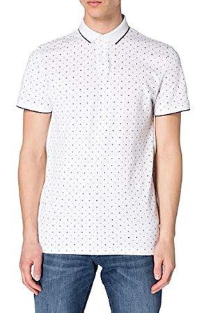 TOM TAILOR Herren 1024053 Print Polohemd, 26079-White Regular Dot