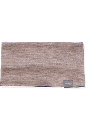 MERIWOOL Leichtes wendbares Stirnband aus Merinowolle für Damen und Herren - Beige - Einheitsgröße