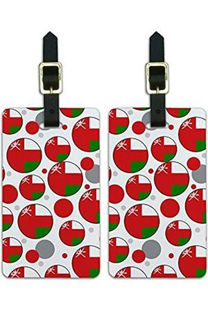Graphics and More Graphics & More O-s-Oman Nationalflagge - Luggage.Tags.09656