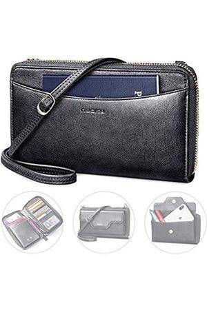 nuoku Reiseorganizer Dokumente Reisepasshülle Damen RFID-Schutz Große Kapazität