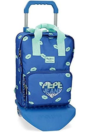 """Pepe Jeans Ruth Laptop-Rucksack mit Trolley 30x40x13 cms Polyester 14"""" 15.6L"""