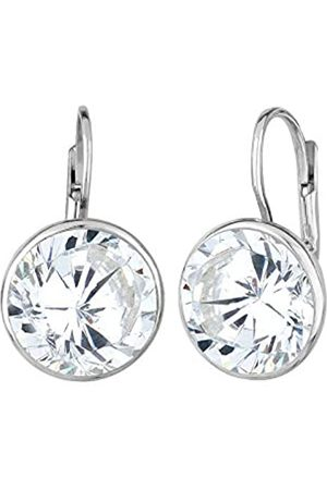 Elli Ohrringe Damen Tropfen Glamour Eleganz mit Zirkonia Kristalle in 925 Sterling Silber