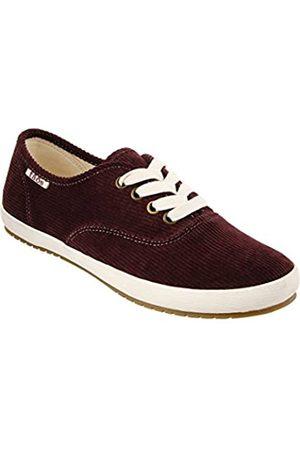 Taos Footwear Damen Guest Star Fashion Sneaker, (Bordeaux-Kordel)