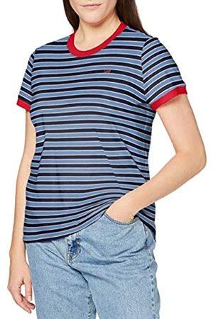 Lee Womens Yarn DYE Stripe Tee T-Shirt