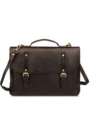 Ainifeel Damen-Aktentasche aus echtem Leder für Business 33 cm (13 Zoll) Laptoptaschen