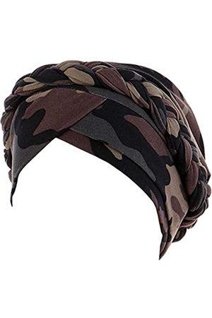 Antjoint Chemo-Krebs-Hut, ethnisch, Boho-Stil, vorgebunden, gedreht, Haarabdeckung, Wickel-Turban