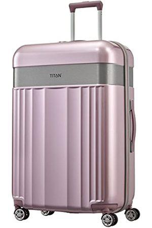Titan 4-Rad Koffer Größe L mit TSA Schloss, Gepäck Serie SPOTLIGHT: Edler Trolley in trendigen Farben, 831404-12, 76 cm