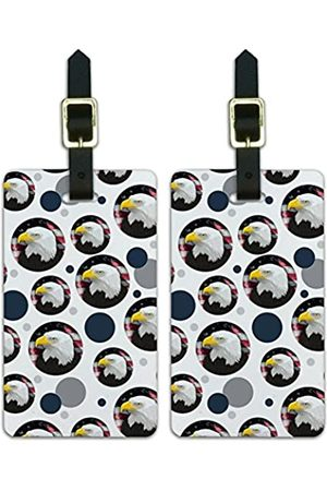 Graphics and More Graphics & More Amerikanischeadlerflagge USA Patriotisch - Luggage.Tags.09053