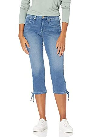NYDJ Damen Capri with Drawcord Hem Jeans