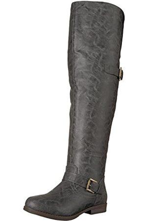 Brinley Co. Damen Sugar Overknee-Stiefel