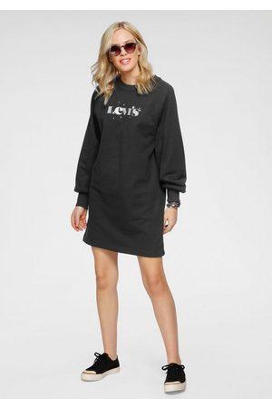 Levi's Damen Freizeitkleider - Sweatkleid mit Kapuze