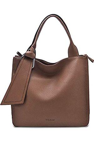 WILSLAT Tote Bag für Frauen PU Leder Laptop Arbeit Schultertasche Leicht Business Casual PU Leder Krawatte Taschen für den Alltag