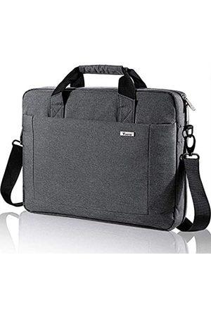 Voova 17 17.3 Inch Laptop Bag Briefcase, Expandable Multi-function Shoulder Messenger Bag, Waterproof Computer Handbag Carrying Case with Organizer Pocket for Men Women